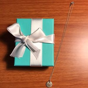 """Tiffany & Co. """"A"""" Initial Necklace"""
